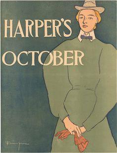 Harper's October ~ Edward Penfield