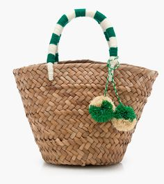 What to wear on vacation-Kayu Mini St. Art Bag, Straw Tote, Boho Bags, Basket Bag, Summer Bags, Knitted Bags, Mini Bag, Bag Making, Purses