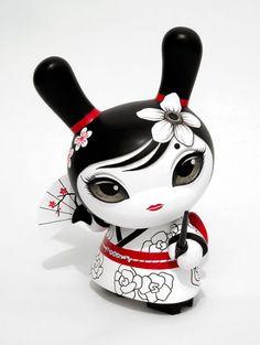 """Hitomi"" the Geisha Dunny | Artist: Otto Björnik"