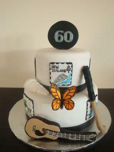 Awe Inspiring 60Th Birthday Cake For Dad Top Birthday Cake Pictures Photos Personalised Birthday Cards Veneteletsinfo