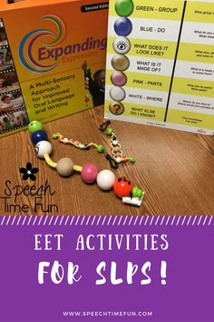 Want to learn more about the EET and fun ways to use it?  Read all about the EET for speech and language therapy here!