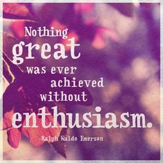 #Entrepreneurs remember: when you're pitching VC's, show them your #passion!   #enthusiasm #startups #venture #greatness