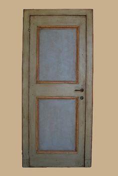 Reproductions of antique italian painted doors - Porte del Passato Italian Doors, Painted Doors, William Morris, Miniature Dolls, Craftsman, Shabby Chic, Antiques, Mani, Furniture