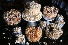 Set up a popcorn buffet with different flavors. Here are 5 recipes.
