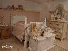 beautiful miniature bedroom