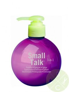Bed Head Small Talk 3-In-1 Thickifier 8 oz- kayleigh noelle says it really thickens your hair march favs. Mix with volumizing mousse.