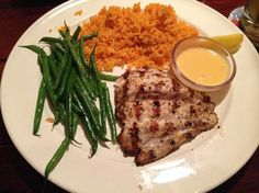 Caribbean Chain Restaurant Recipes: Pan Seared Grouper