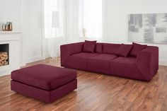Big Sofa Braun Xl Mit Schlaffunktion Mit Bettkasten Fsc