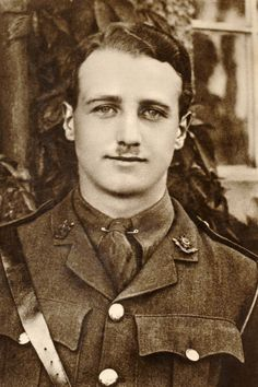 Lieutenant William Leefe Robinson, Royal Flying Corps, winner of the Victoria Cross, was the first British pilot to shoot down a German airship over England.