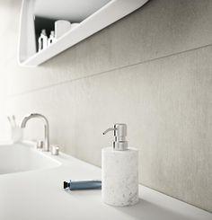 ragno #land mosaico ivory 20x50 cm r4de | #gres #tinta unita, Hause ideen