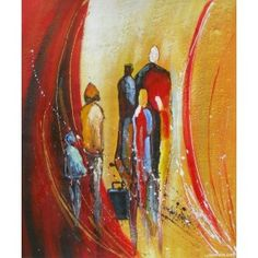 Modern People [Hs3744] Oil Painting for sale on overArts.com