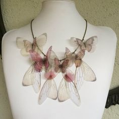 I Will Fly Away  Handmade Silk Organza by TheButterfliesShop