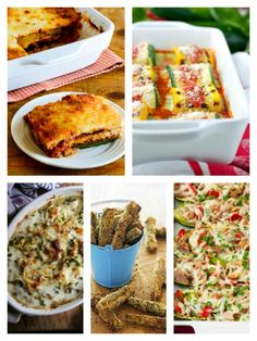 Low-Carb Recipe Love on Fridays: Late Summer Zucchini Recipes. Every Friday I featured five amazing low-carb recipes that you might want to add to your menu for the coming week! [found on KalynsKitchen.com]