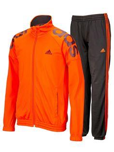 adidas sweatsuit Orange