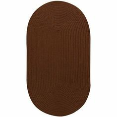 """Mill Creek Chocolate Rug Rug Size: Cross Sewn Square 5'6"""" by Capel Rugs. $281.00. 0850XS05060506775 Rug Size: Cross Sewn Square 5'6"""" Features: -Technique: Braid.-Material: 100pct Polypropylene.-Origin: USA.-100pct Reversible.-20'' x 30'' concentric.-24'' x 36'' concentric.-2' x 8' concentric runner.-27'' x 48'' concentric.-2'3'' x 9' concentric runner.-36'' concentric square.-3' x 5' concentric.-4' x 6' concentric.-5' x 8' concentric.-5'6'' concentric square.-7' x 9' concentric..."""