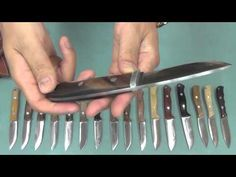 My Bark River Hunting Knife Collection 2014