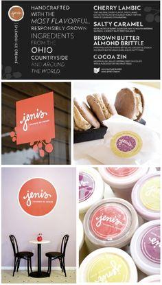 Jeni's Ice Creams Logo by Element