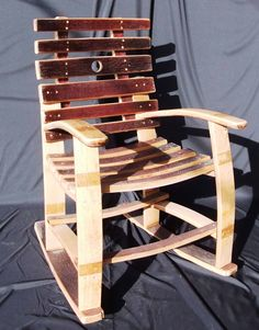 Stave Rocking Chair