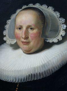 Rembrandt Harmensz van Rijn, Bildnis der Maertgen van Bilderbeecq, Ausschnitt (Portrait of Maertgen van Bilderbeecq, detail)