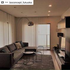 136 個讚,1 則留言 - Instagram 上的 BoConcept Japan(@boconcept_jp):「 グレーを基調としたかっこいいお部屋。BoConcept福岡のお客様事例。 #Repost @boconcept_fukuoka with @repostapp ・・・ #BoConcept… 」