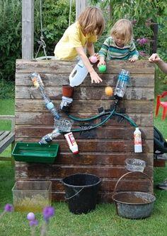 A water wall vakantie idee?