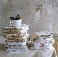 Old dishcloths