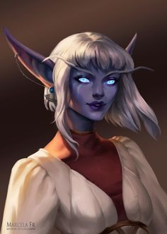 World Of Warcraft Characters, Elf Characters, Fantasy Characters, Female Character Inspiration, Fantasy Character Design, Character Art, Character Ideas, New Fantasy, Fantasy Girl