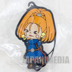 Dragon Quest Theatrhythm Rubber Charm Strap Barbara JAPAN GAME WARRIOR