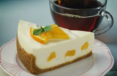 No-Bake Orange Cream Cheesecake recipe. Only 11 grams of carbs per serving. Light fluffy textured cheesecake filled with chopped oranges, reduced-fat cream cheese and ricotta cheese makes a great warm weather dessert. Diabetic Gourmet Magazine. DiabeticGourmet.com