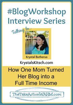 Blog Workshop Interview with Krystal Butherus of Krystal's Kitsch