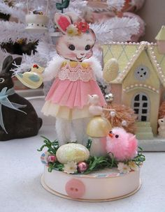 Vintage Inspired Easter  SuGaR SwEeT Spring by saturdayfinds, $19.99