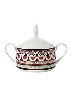 PIED A TERRE  Persia Jewels Sugar Bowl
