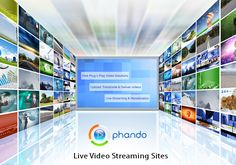 Live Video Streaming is going to become face of year 2017 as it is the top most marketing and media trends. All kinds of video are getting popularity today in short period of time but most popular is #LiveStreaming. If you are looking for the best Live #VideoStreaming Sites, contact us at www.phando.com and live streaming services with complete video management facilities.