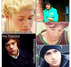 Awwww>> of course ill be in the hospital... because i'll see their faces x_x