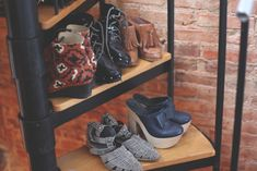 Shoes on Sprial Stairs
