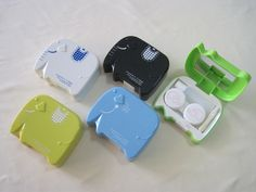 Contact Lens Case, Elephant Shape (A-H011)