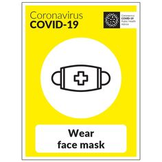 COVID-19 Wear Face Mask Sign Good Ma, Company Signage, Quick Quotes, Changing Jobs, Health Advice, Company Names, We The People, Quotations, Construction