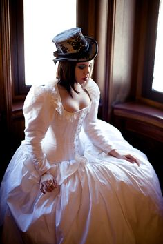 Gorgeous corseted gown