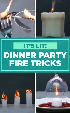 Impress party guests with these fiery table tricks! Party Guests, Party Party, Party Ideas, Stuff To Do, Fun Stuff, Funny Videos Clean, Party Things, Arts And Crafts, Diy Crafts