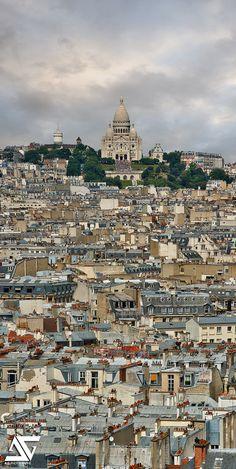 """""""Favela"""" by A.G. Photographe on Flickr - Sacre Coeur, Montmatre, Paris, France"""