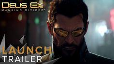 Deus Ex: Mankind Divided - Launch Trailer #gaming #games #gamer #videogames #videogame #anime #video #Funny #xbox #nintendo #TVGM #surprise