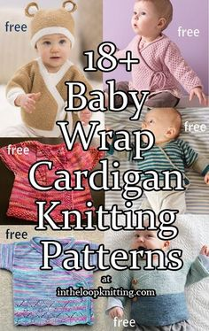 Free Knitting Patterns: Boot Cuffs, Baby Sweaters, Kerchiefs, and Bats Easy Baby Knitting Patterns, Baby Cardigan Knitting Pattern Free, Knitting Designs, Baby Patterns, Free Knitting, Knitting Hats, Knitting Ideas, Knitting Projects, Crochet Saco