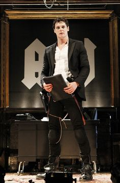 Photo of Benjamin Walker as Andrew Jackson in Bloody Bloody Andrew Jackson. Benjamin Walker, Andrew Jackson, American Psycho, Julius Caesar, Star Show, Show Photos, Man Candy, Grease, Theatre
