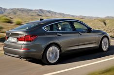 Refreshed 2014 BMW 5 Series Gran Turismo Keeps the Hunchback - WOT on Motor Trend