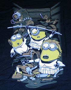 """""""Despicable Rebels"""" Star Wars Minions Mashup Women's Small Shirt Ript #Ript #GraphicTee"""