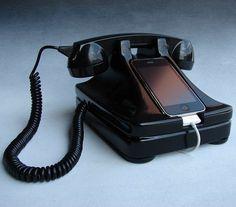 Fancy - iRetrofone iPhone Dock & Handset