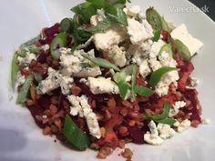 Pohánkové rizoto - Recept Cobb Salad, Quinoa, Healthy Recipes, Healthy Food, Grains, Good Food, Bulgur, Healthy Foods, Healthy Eating Recipes