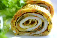 Cách làm trứng cuộn cà rốt đẹp mắt, ngon miệng - http://congthucmonngon.com/175252/cach-lam-trung-cuon-ca-rot-dep-mat-ngon-mieng.html