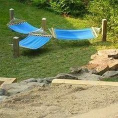No trees required! Perfect for when you wanna soak up some sun with a couple friends.
