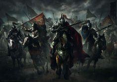 Cavalry by mlappas.deviantart.com on @DeviantArt